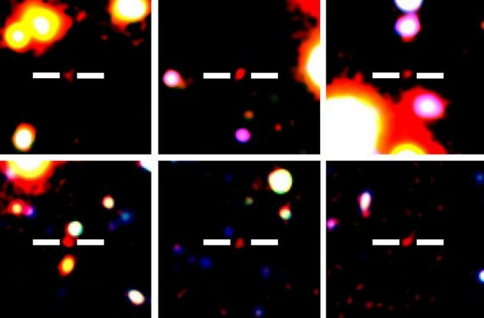Миллионы лет - не возраст для галактики.