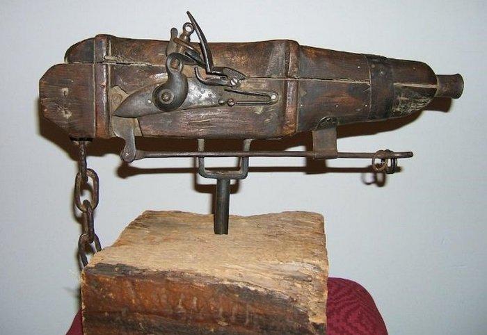 Кладбищенское ружье.