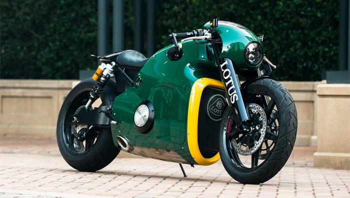 Первый мотоцикл марки Lotus.