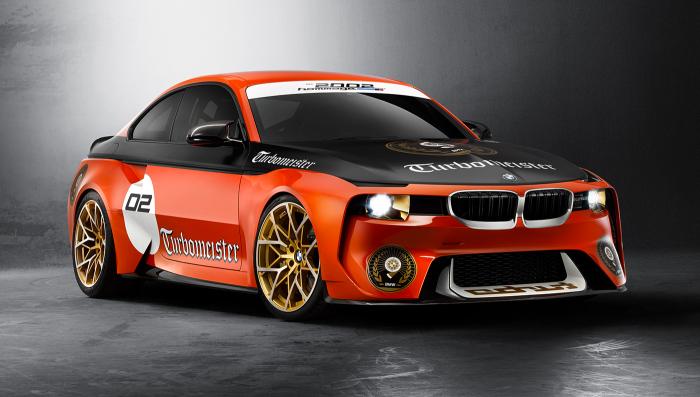 Специальная версия BMW 2002 Hommage Coupe.