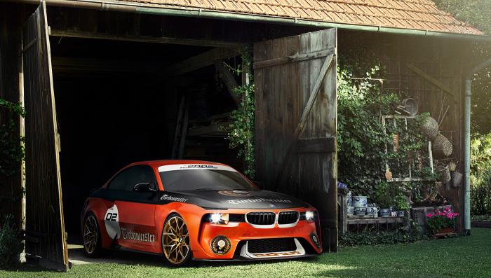 Прячущийся BMW 2002 Hommage.