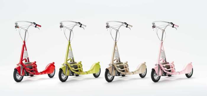 Яркие, жизнерадостные цвета велосипеда WBC.