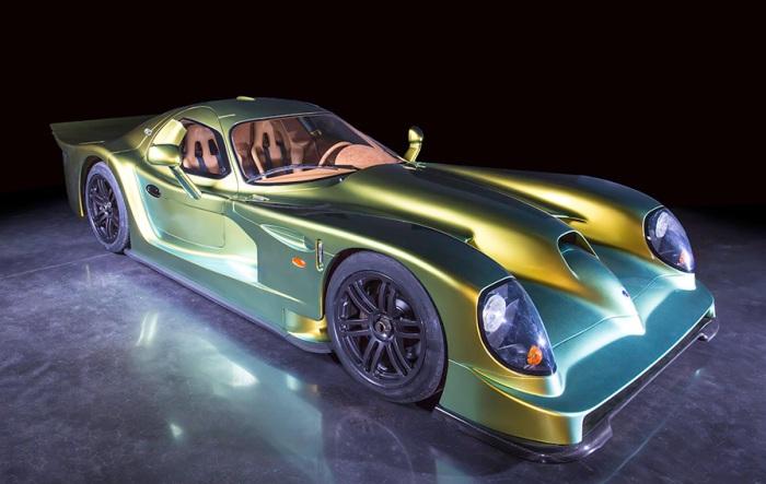Первый и пока единственный экземпляр Panoz Esperante GTR-1 Le Mans Homologation Special.