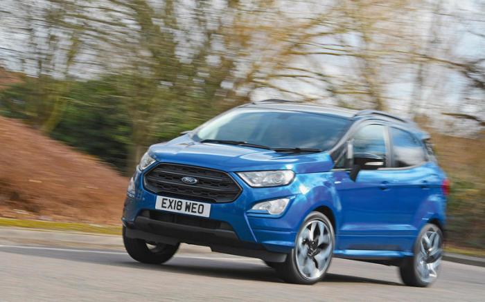Мини-кроссовер Ford EcoSport оказался даже хуже, чем обычная Fiesta. | Фото: autocar.co.uk.
