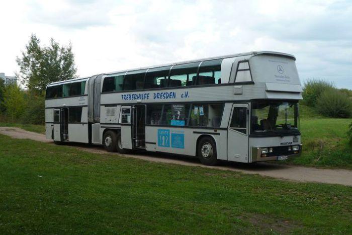 Jumbocruiser в немецком городе Дрезден.