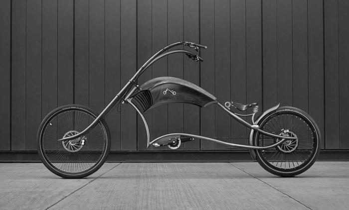 Уникальный Ono Bikes Archont с длинной вилкой и высокой посадкой.
