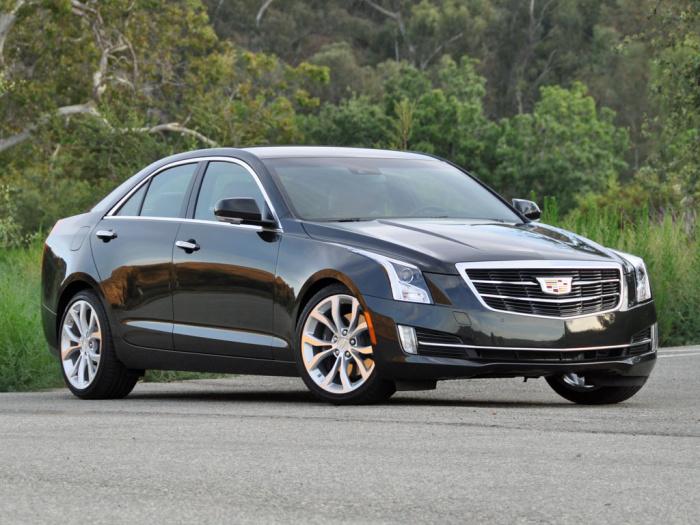 Оценка надежности Cadillac ATS: -120.