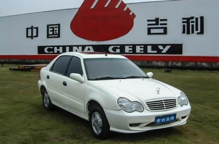 Geely Merrie 300 – китайский седан, который сделали похожим на самый доступный из Mercedes-Benz.