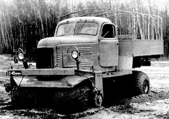 ЗИЛ-132С оказался неустойчивой и трудноуправляемой машиной.