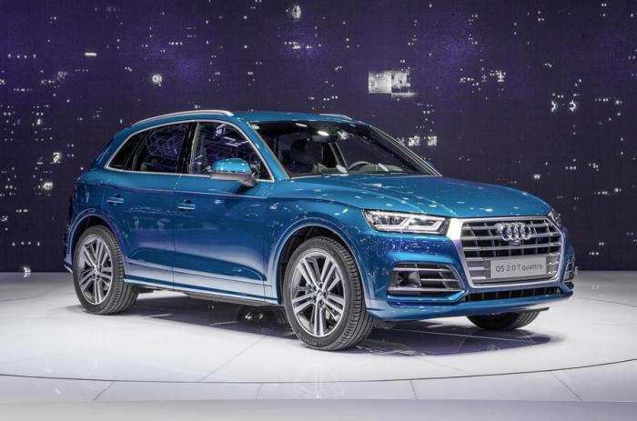 Audi Q5 - облегченная и прихорошенная версия Q7.