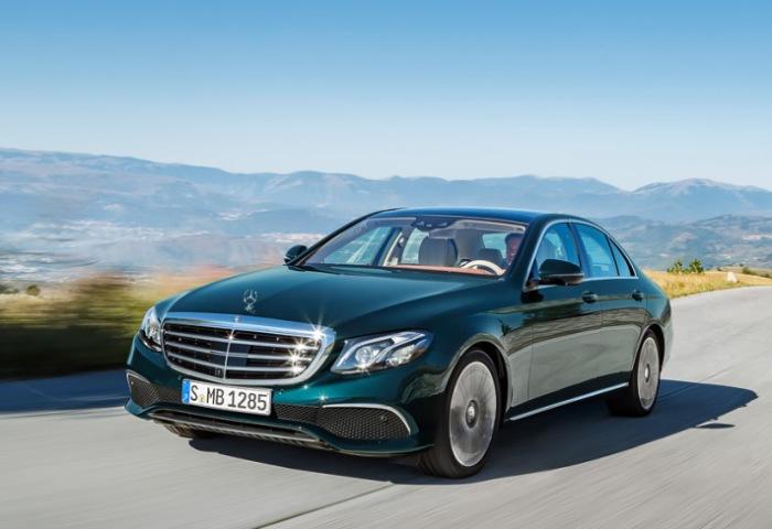 Новейший бизнес-седан Mercedes Benz E-Class.