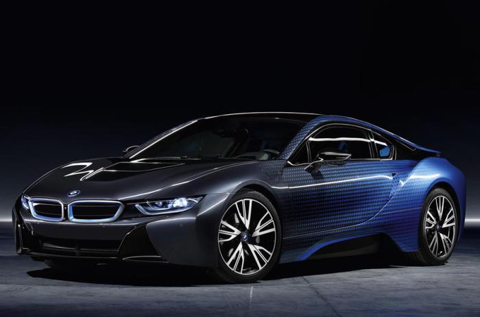 Электрическое купе BMW i8 Garage Italia Crossfade.