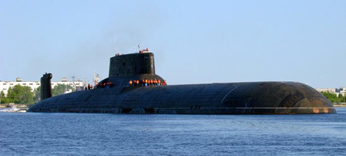 Самая большая в мире подводная лодка была построена в СССР.   Фото: ekabu.ru.