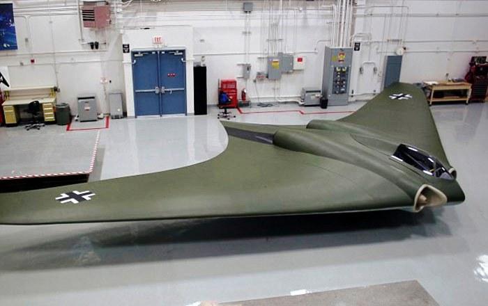 Восстановленное «летающее крыло» Horten Ho 229 V3.