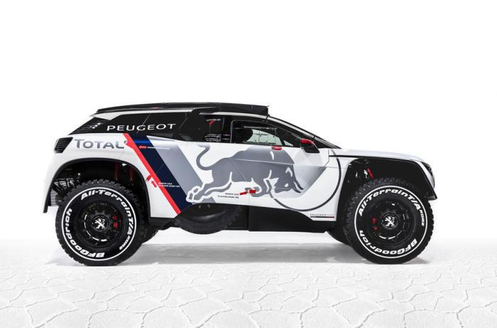 Peugeot 3008 DKR – концепт для гонок на выносливость.