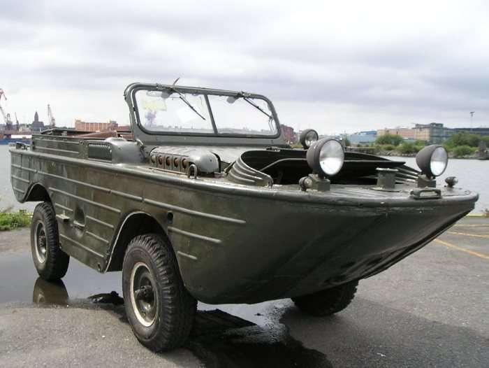 Амфибия МАВ выпускалась в Нижнем Новгороде и в Ульяновске с 1953 по 1958 гг. | Фото: abw.by.