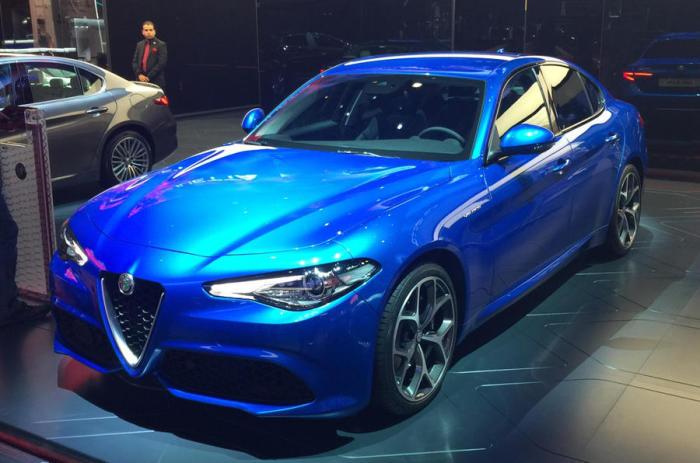 Итальянский стиль новой Alfa Romeo Giulia Veloce.
