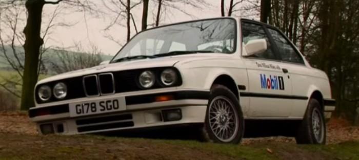 BMW 325i, использованный для испытаний масла Mobil 1.