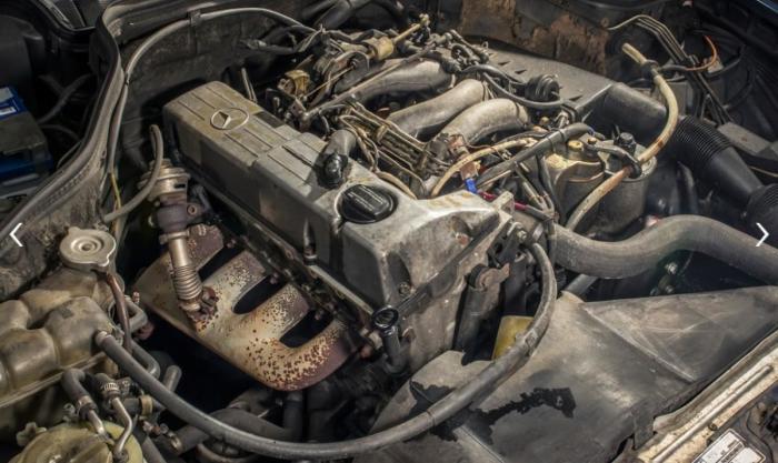 2,0-литровый дизельный двигатель «миллионера» Mercedes-Benz.