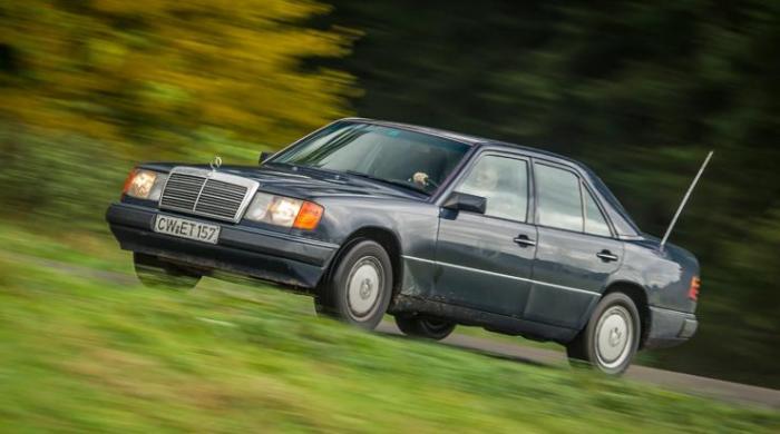 Mercedes-Benz E-Class, проехавший миллион километров.