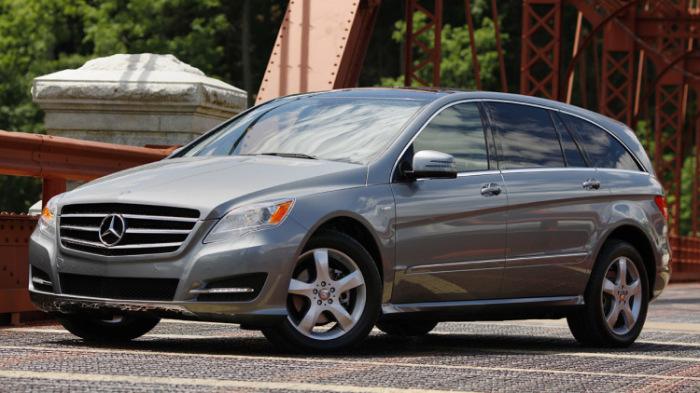 Первый в истории марки Mercedes-Benz минивэн.