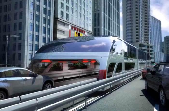Новый автобус, который заменит метро.