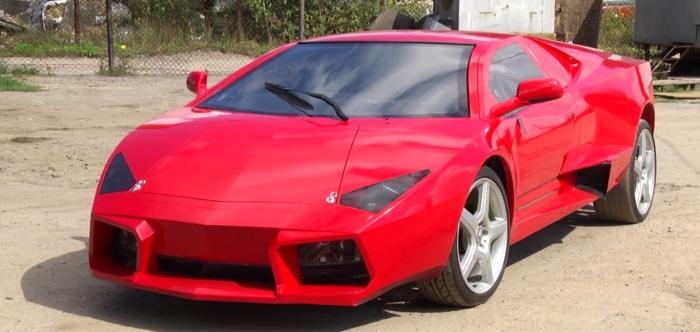 Самодельный Lamborghini Reventon.