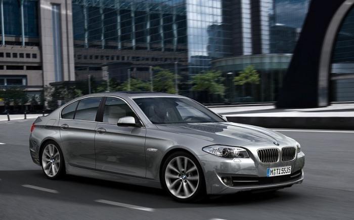 Немецкий седан BMW 5 Series в кузове F10, 2012 год. | Фото: cheatsheet.com.