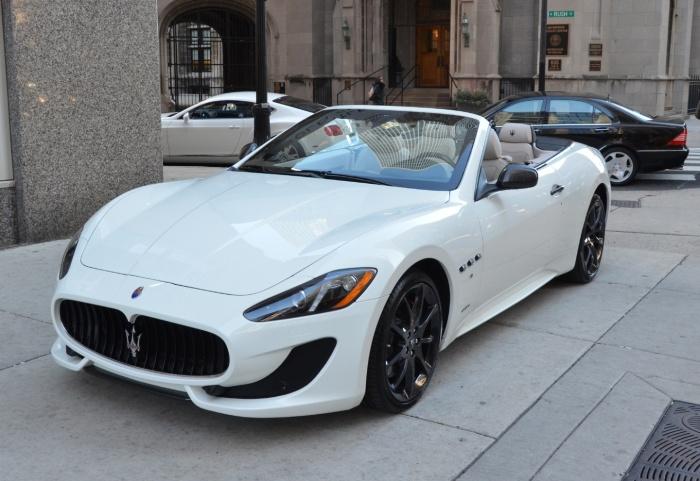 Спортивный родстер Maserati Gran Turismo Convertible.   Фото: trueautosite.com.