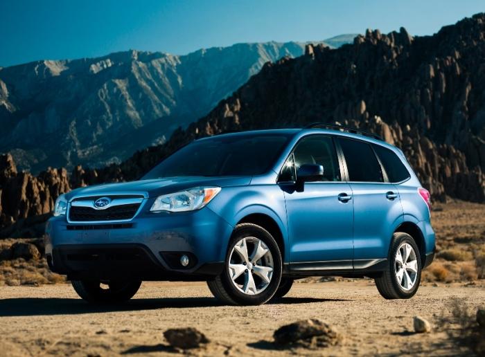 Subaru Forester четвертого поколения. | Фото: motortrend.com.