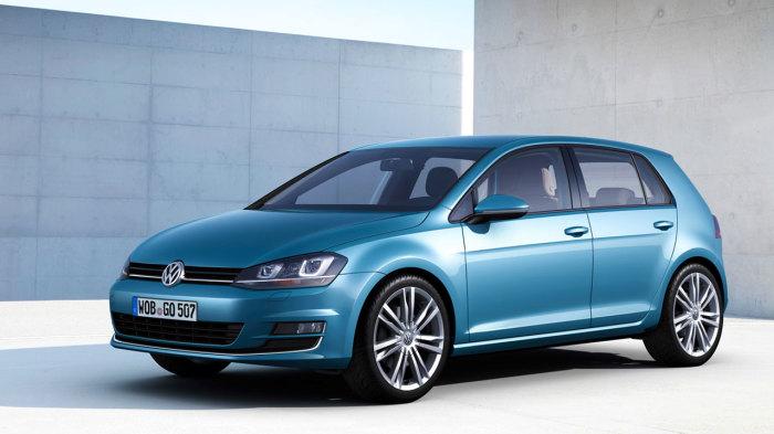 Седьмое поколение популярного хэтчбека Volkswagen Golf. | Фото: strongauto.net.
