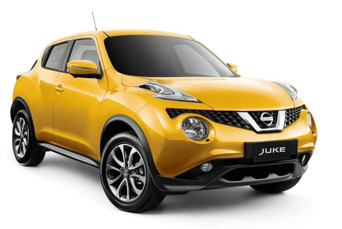 Компактный кроссовер Nissan Juke. | Фото: carshowroom.com.au.