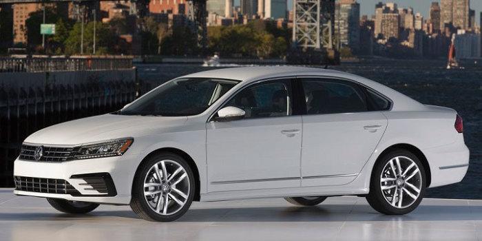 Volkswagen Passat восьмого поколения выпускается с 2015 года. | Фото: jdpower.com.