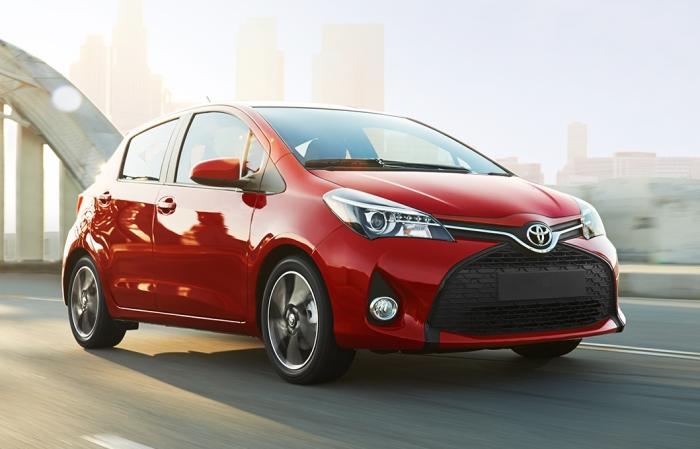 Yaris – самая маленькая Toyota.
