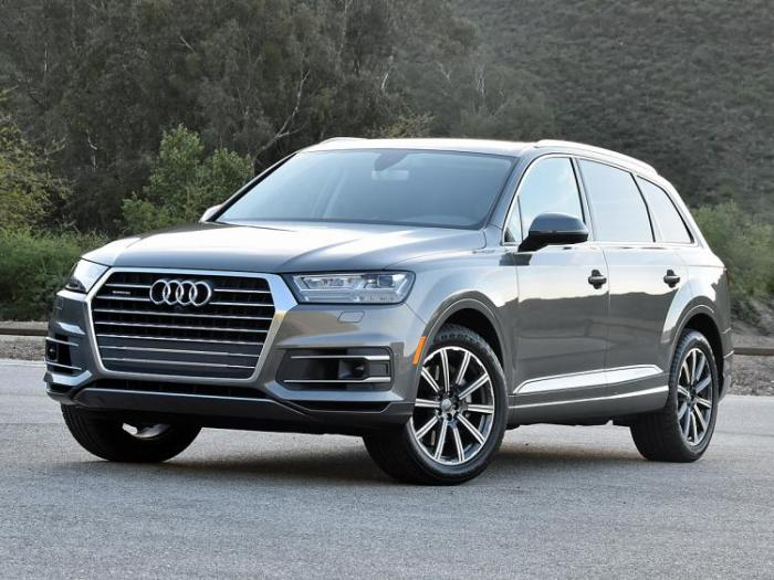Самая новая версия кроссовера Audi Q7. | Фото: nydailynews.com.