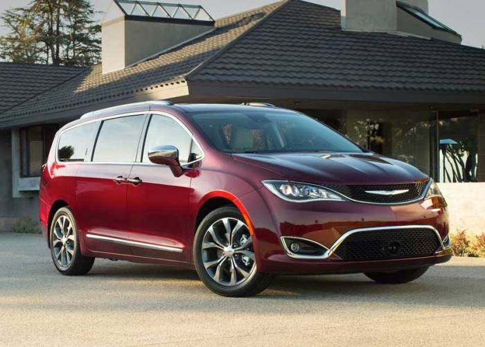 Американский минивэн Chrysler Pacifica получил несколько титулов «Лучший минивэн» по версии разных организаций. | Фото: forestlakechrysler.com.