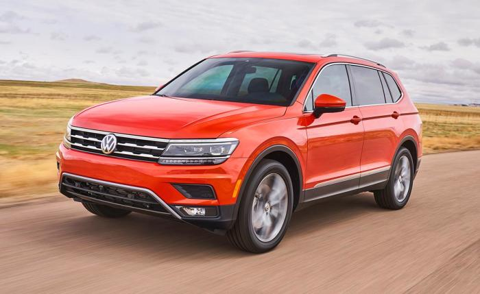 Volkswagen Tiguan второго поколения стал крупнее и теперь больше приспособлен для перевозки всей семьи. | Фото: nydailynews.com.