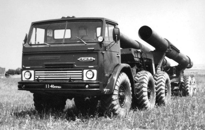 5-осная версия грузовика ЗИЛ-132РВ.