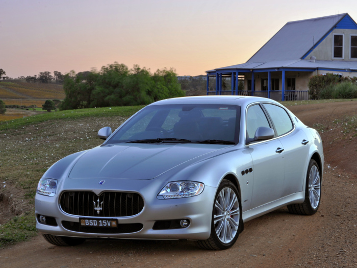 ���������� �������� ����� �� ���������� �� Maserati.