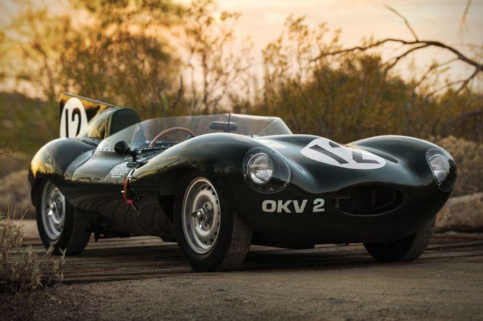 Jaguar D-Type - трехкратный победитель Ле-Мана. | Фото: mirnovinok.com.