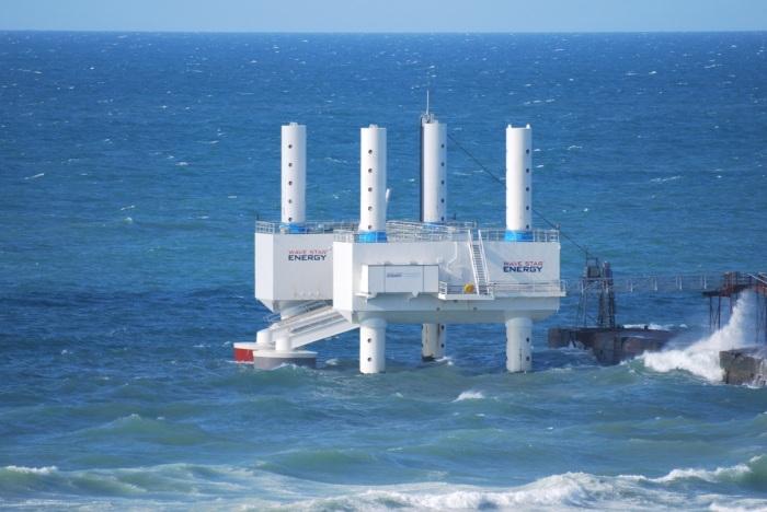 Волновая установка Wave Star мощностью 600 кВт.
