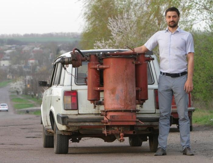 Газогенераторный ВАЗ-2104. | Фото: drive2.ru.