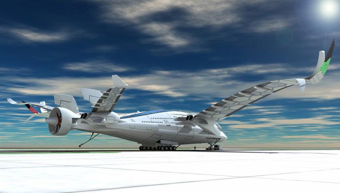 Project Eagle довольно сильно отличается от современных «Боингов» и «Аэробусов». | Фото: robbreport.com.