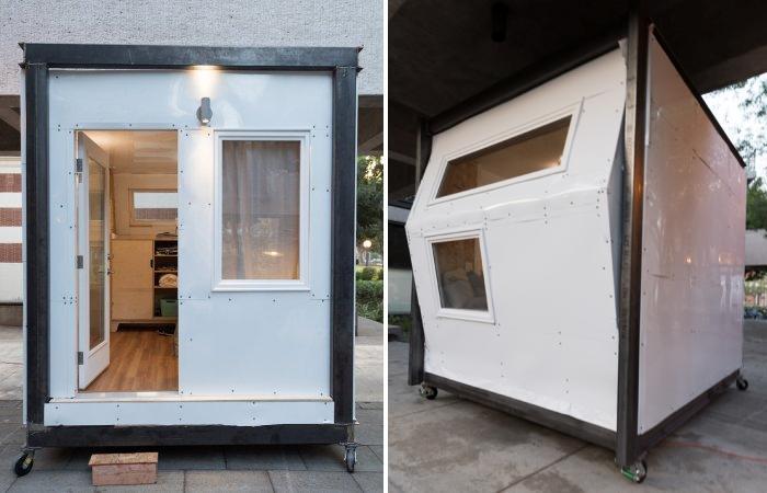Проект индивидуального дома для бездомных Homes for Hope площадью 8,5 кв. метра.