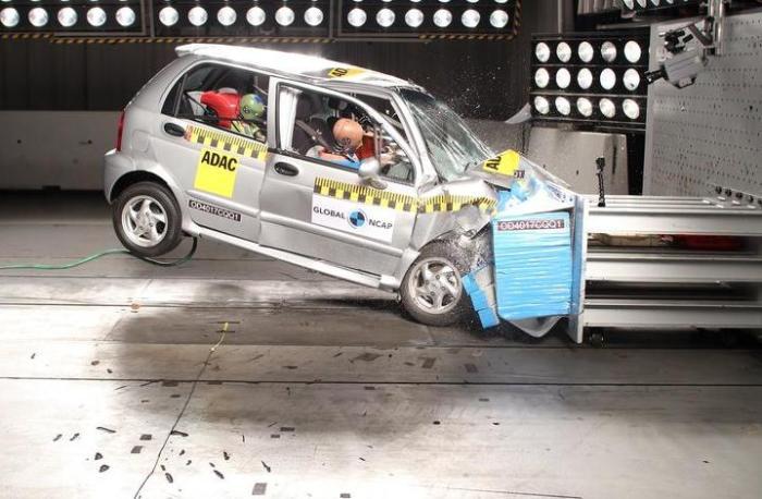 Chery QQ3 – фактически, удешевленная копия Daewoo Matiz. | Фото: autocar.co.uk.