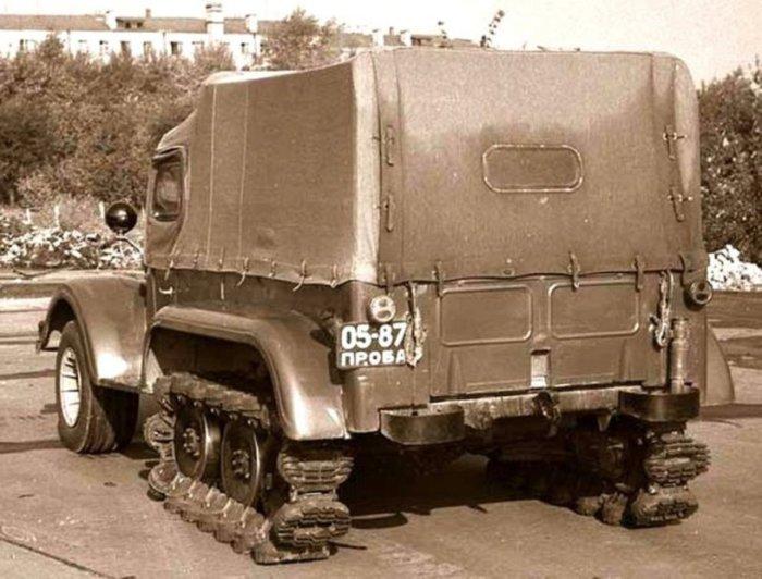 Внедорожник НАМИ С-3МУ.