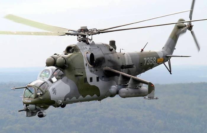 Вертолет Ми-24 по прозвищу «Крокодил». | Фото: cont.ws.