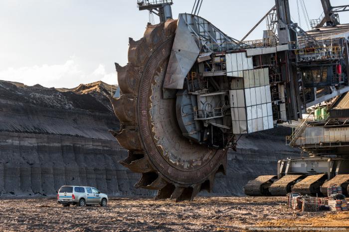 Огромный ротор экскаватора Bagger 288. | Фото: wonderfulengineering.com.