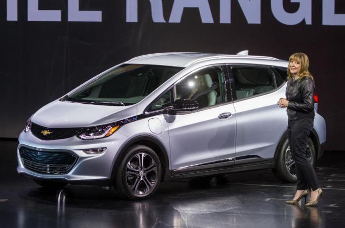 Chevrolet Bolt  - новый электрокар из Детройта.