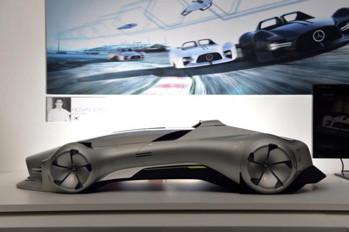 Mercedes-Benz Autonomous Racing южнокорейского дизайнера Хосан Сонг.
